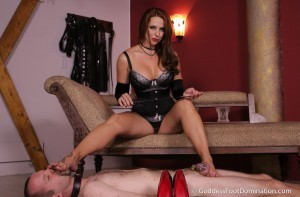 Slave Begs for Bare Feet