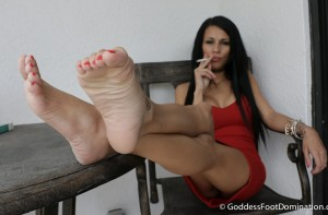 Goddess Mercy has Smoking Hot Feet